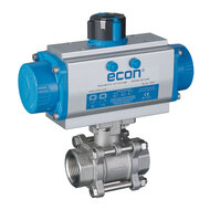 Automated Ball Valves with Threaded Connection