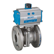 Automated Ball Valves with Flange Connection