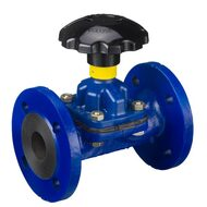 Diaphragm Valves with Flange Connection