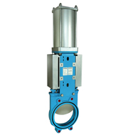 Knife gate Valves Pneumatically Operated