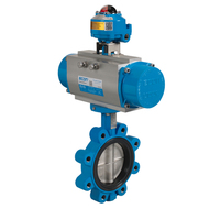 Automated Butterfly valves lugged