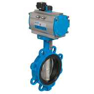 Automated Butterfly valves wafer