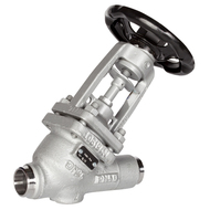 Bellows Sealed Globe Valve welding connection