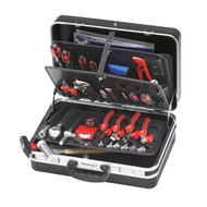 Filled Tool Trolleys, Tool Boxes and Chests