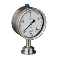 Pressure gauges with diaphragm seal
