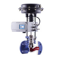 Pneumatic actuated control valves