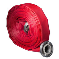 Layflat rubber (fire) hoses