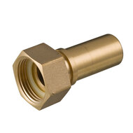 Hosetail female thread (safety clamps)