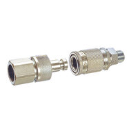 Valve quick-release couplings