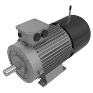 AC Motors with Brake