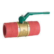 Red Pipe Valves