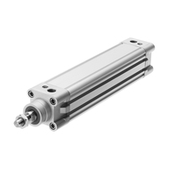 Cylinders with piston rod
