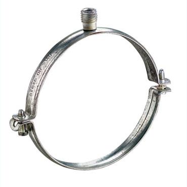 Collier en acier galvanisé ventilation