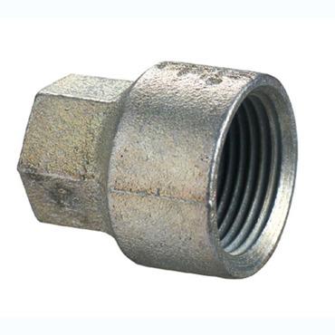 Adaptor verzinkt staal 1333 - 2 x binnendraad