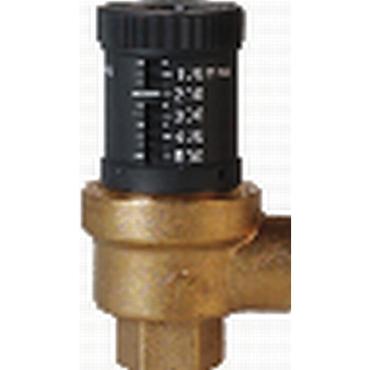Overflow valve fig. 3495 brass angled pattern internal thread