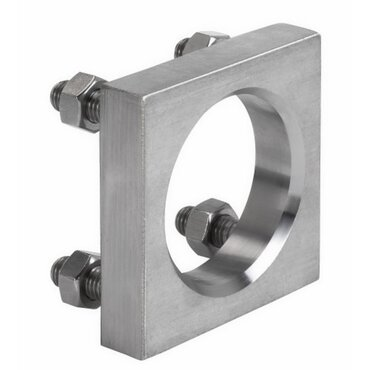 Counter flange fig. 1197 type A stainless steel welded-on flange with welding pipe