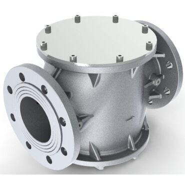 Gasfilter fig. 31302 aluminium 30µm flange