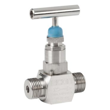 Needle valve fig. 229 stainless steel external thread BSP
