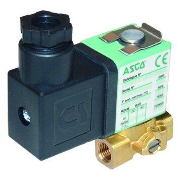 Solenoid valve 2/2 fig. 32000 series 256 brass internal thread