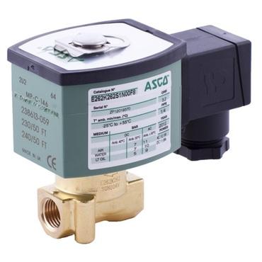 Solenoid valve 2/2 fig. 32010 series 262 brass internal thread