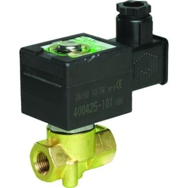 Solenoid valve 2/2 fig. 32018 series 263LT brass cryogenic internal thread