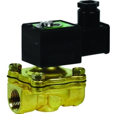 "Solenoid valve 2/2 fig. 32205 series SCE210D001 brass/NBR 16mm 230V AC 3/8""BSPP"