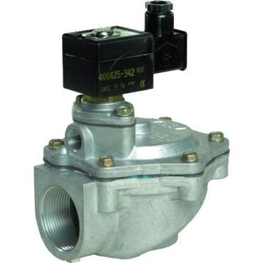 Solenoid valve 2/2 fig. 32231 series 353 aluminium angled incl. plug internal thread