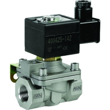 Solenoid valve 2/2 fig. 32302 series 210 stainless steel internal thread