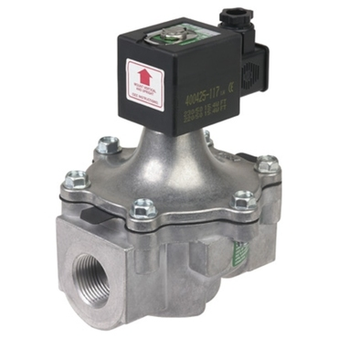 Solenoid valve 2/2 fig. 32309 series 215 aluminium internal thread