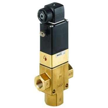 Magneetafsluiter 3/2 fig. 33350 serie 340 messing binnendraad