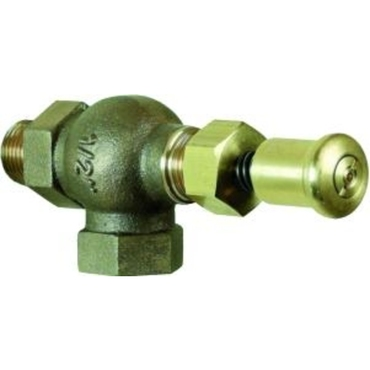 "Drain valve fig. 573 bronze/NBR self closing push button PN10 1""BSP"