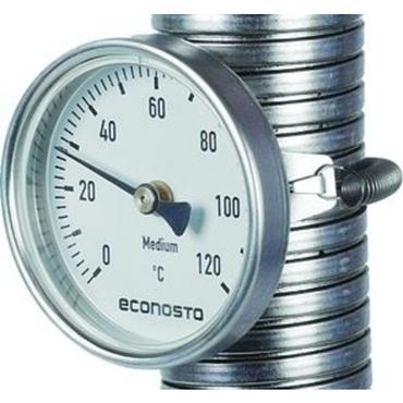 Bimetalthermometer Fig. 663 Aluminium/Acrylglas Edelstahl R63 0-60°C