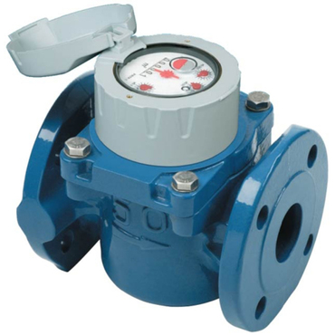 Watermeter Woltman fig. 8215 cold water cast iron flange