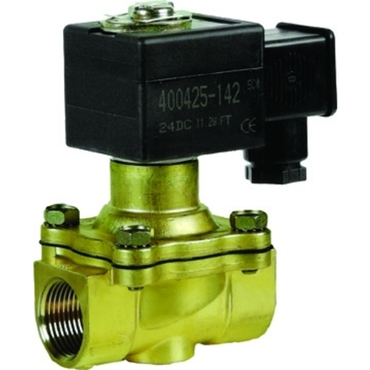 Solenoid valve 2/2 fig. 32400 serie 210 brass internal thread