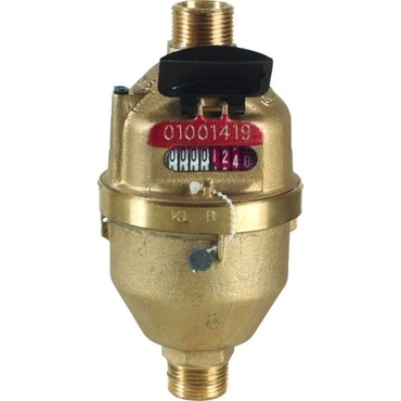 Watermeter fig. 8214 brass internal thread