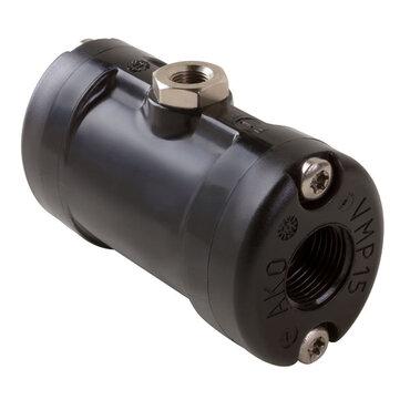 "Slangafsluiter fig. 209 POM/EPDM pneumatisch bediend 3/8""BSPP"