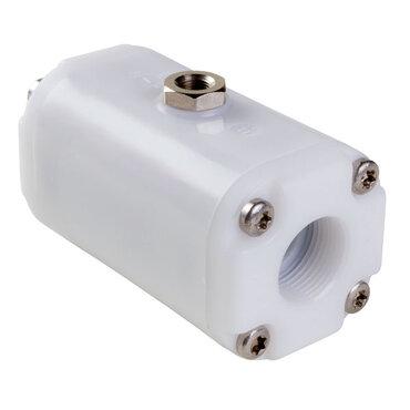 "Slangafsluiter fig. 209 POM/EPDM pneumatisch bediend-LS 1""BSPP"