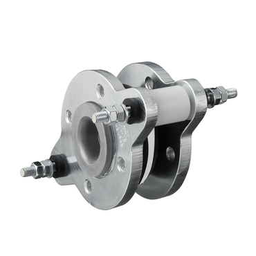 "Compensator type 49 colour white - flanges - steel or stainless steel - model ""C"" with movement limiters"