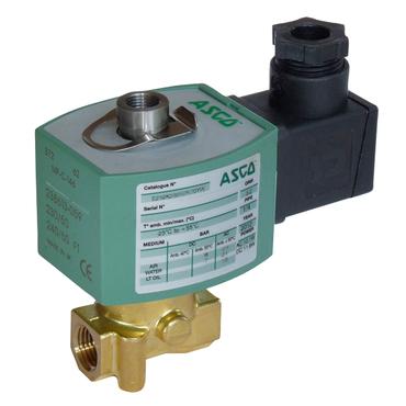 Magneetafsluiter 3/2 fig. 33020 serie 314 messing binnendraad