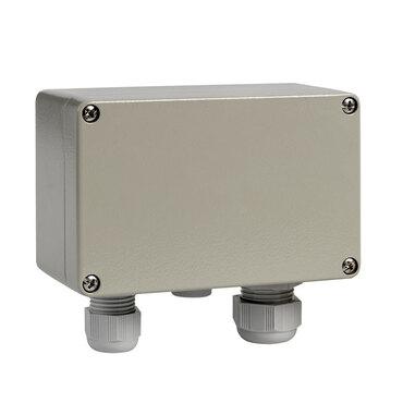 Junction box 1241X Alu IP66 1PG16 1PG11 Ontluchting