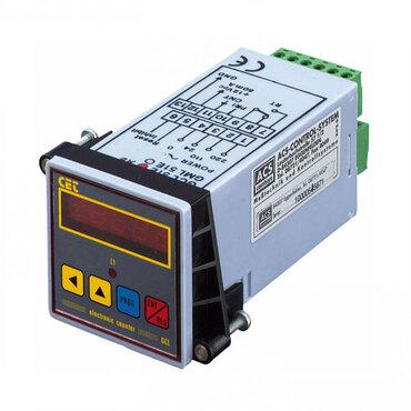 Doser and total counter GCM51E 220/12VDC 1R 48x48