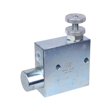 3-Way Flow control valve RFP 3 1/2""