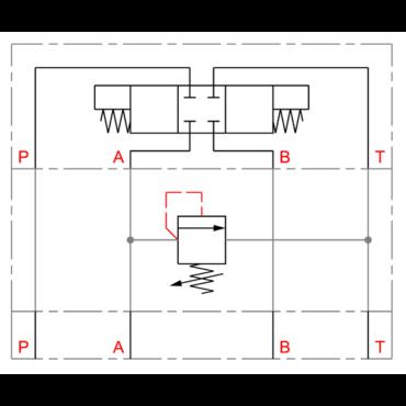 Drukbegrenzingsventiel A-T serie DGMC/MGZ