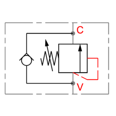 Pressure sequence valve VS2C