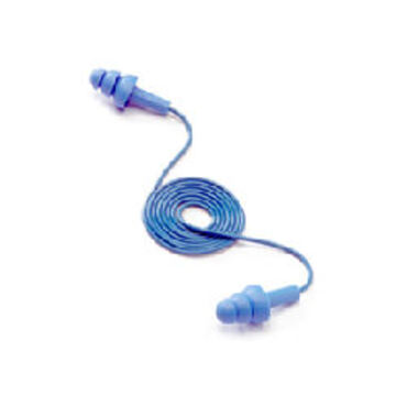 E-A-R Tracer 32dB Corded Reusable Earplugs 50 Pairs/Box
