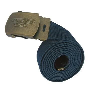 Elasticated Work Belt Navy