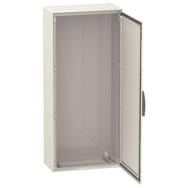 Compact modular enclosure, floor standing, steel