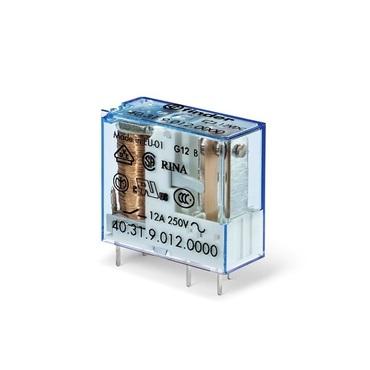 Miniature PCB relay 8-10-12-16 A series 40