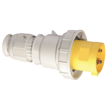 Industrial trailing Plug With Multi Grip Cable Gland and quick connect terminals IP67