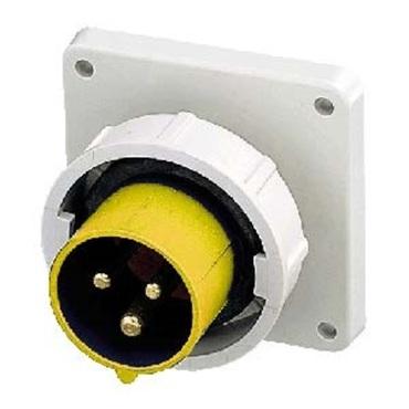 Panel mounted socket IP67